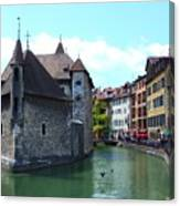 Picturesque Annecy, France Canvas Print