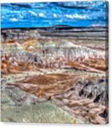Picturesque Blue Mesa Canvas Print