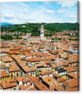 Picturesque Cityscape Of Verona Italy Canvas Print