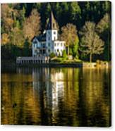 Picturesque Grundlsee Canvas Print