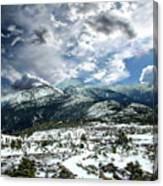 Picturesque Mountain Landscape Canvas Print
