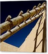 Picuris Pueblo Ladder. Canvas Print