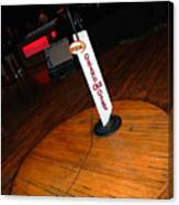 Piece Of The Original Old Stage At The Grand Ole Opry In Nashville Canvas Print