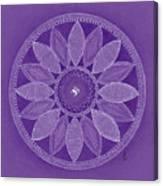 Pieces In Purple Canvas Print