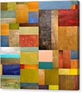 Pieces Project Lll Canvas Print