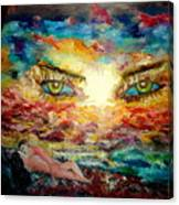 Piequal3because14 Canvas Print