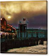 Pier 39 In San Francisco  Canvas Print