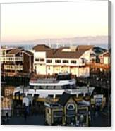 Pier 39 Panorama Canvas Print