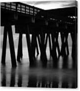 Pier Abstract Canvas Print
