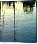Pier  Reflections Canvas Print