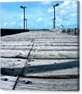 Pier To The Sky Canvas Print