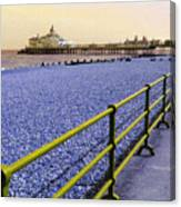 Pier View England Canvas Print