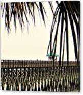 Pier Walk Canvas Print