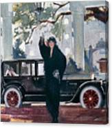 Pierce-arrow Ad, 1925 Canvas Print