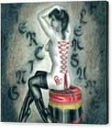 Piercing Pleasure Canvas Print