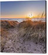 Pierport Beach Dunes Canvas Print