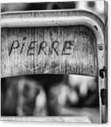 Pierre Canvas Print