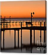 Piers Canvas Print
