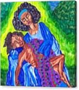 Pieta-2 Canvas Print