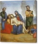Pieta Raffaello Sanzio Da Urbino Raphael Raffaello Santi Canvas Print