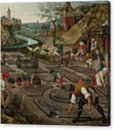 Pieter Breughel The Younger Canvas Print