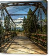 Pigeon Bridge Canvas Print