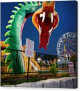 Pigeon Forge Dragon Canvas Print