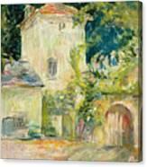 Pigeon Loft At The Chateau Du Mesnil Canvas Print