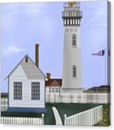 Pigeon Point Lighthouse California Canvas Print