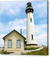 Pigeon Point Lighthouse View Canvas Print