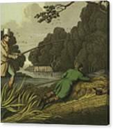 Pike Fishing Canvas Print