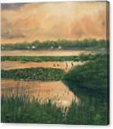 Pike Lake Canvas Print