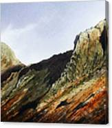 Pike O' Stickle And Loft Crag Canvas Print