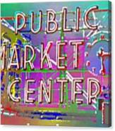 Pike Place Market 3 Canvas Print