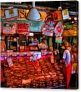 Pike Place Market Canvas Print