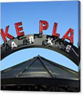 Pike Street Market Sign Canvas Print