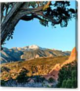 Pikes Peak From Ridge Trail Canvas Print