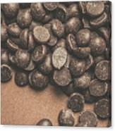 Pile Of Chocolate Chip Chunks Canvas Print