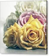 Pile Of Roses Canvas Print