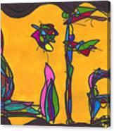Pillar Of Life Canvas Print