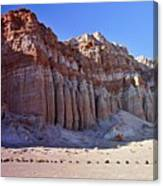 Pillars, Red Rock Canyon State Park Canvas Print
