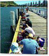 Pilot Bay Beach 6 - Mount Maunganui Tauranga New Zealand Canvas Print