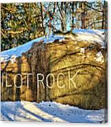 Pilot Rock Iowa Canvas Print