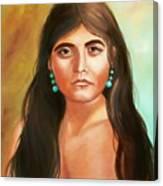 Pima Maiden Canvas Print