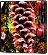 Pine Cone Ornament Canvas Print