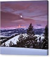 Pine Creek Pass Canvas Print