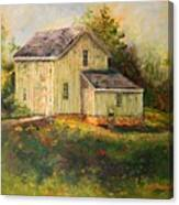 Pine Hill Barn Canvas Print