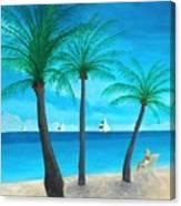 Pine Island Lady  Canvas Print
