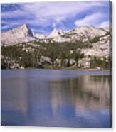 Pine Lake Canvas Print