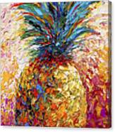 Pineapple Expression Canvas Print